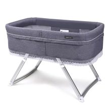 2020 NEW Baby Cribs Cot Foldable Portable Crib Infant Bed Baby Nest Bassinet Bedside Sleeper with Adjustable Legs(China)