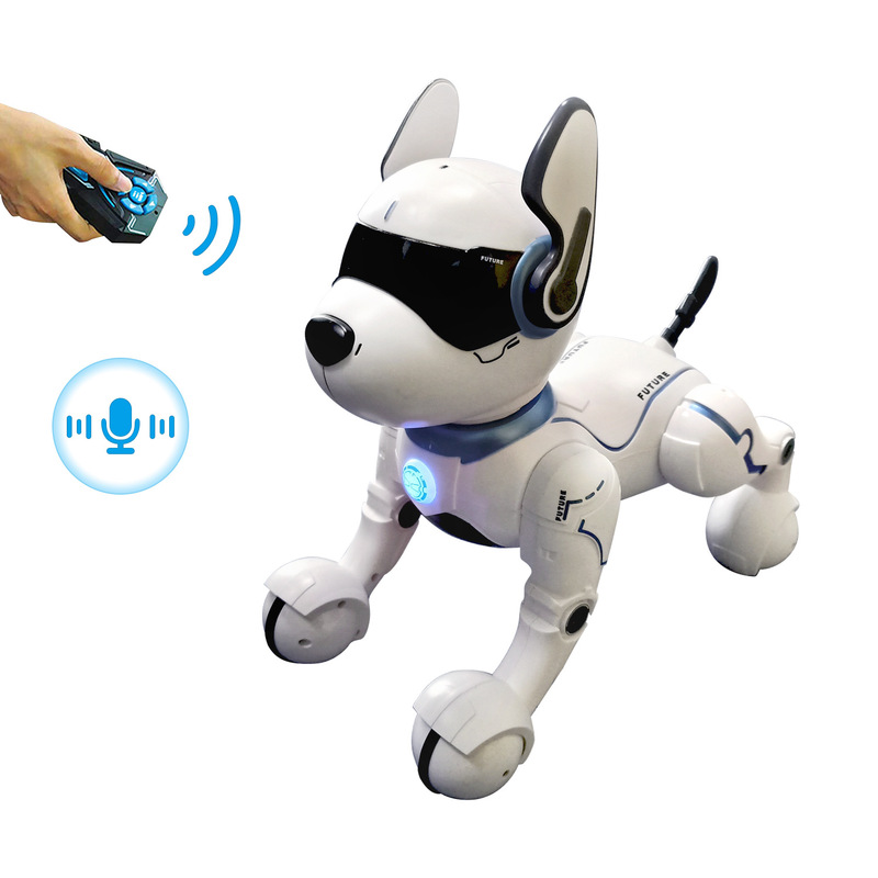 Remote Control Electric Robot Dog Puzzle Toys For Boys And Girls Walking Toy