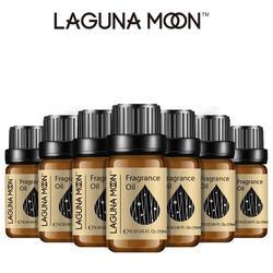 Lagunamoon 10Ml Verse Linnen Diy Geurolie Aardbei Oranje Kokosolie Voor Kaars Zeep Maken Parfum Lucht Fris Diffuser