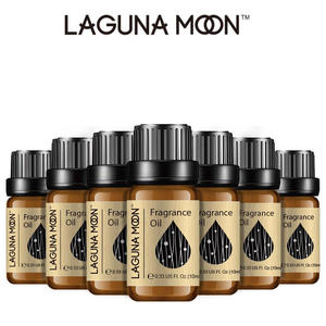 Lagunamoon 10ml Fresh Linen DIY Fragrance Oil Strawberry Orange Coconut Oil For Candle Soap Making Perfume Air Fresh Diffuser