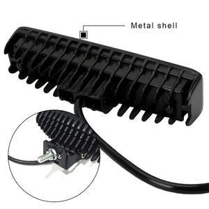 Image 4 - 안개 램프 12 24V 36W 자동 오토바이 트럭 보트 트랙터 트레일러 Offroad 작업 빛 LED 작업 빛 스포트 라이트 LED 헤드 라이트