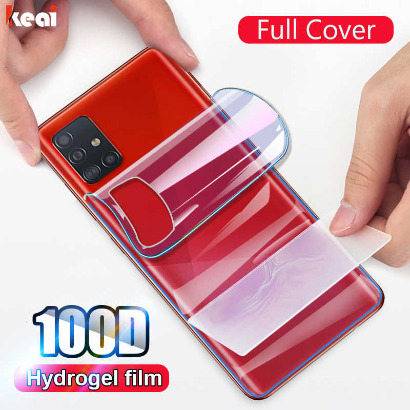 100D Zwart Film Voor Samsung Galaxy S10 Plus S10E Hydrogel Film A50 A51 A71 A10 A20 A20E A40 A70 Screen protector Note 10 Plus