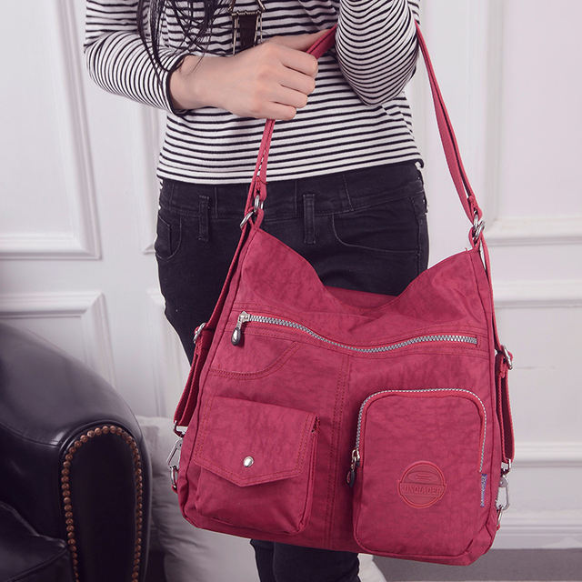 Luxury Handbags For Women Waterproof Nylon Fabric Designer Handbags Fashion 2021