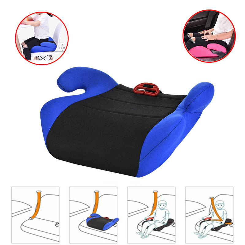 Seat Booster Child Car Seat Cushion Increased Dinner Chair HDPE Integrated Baby Auto Cradle Seat Heighten Pad
