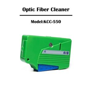 Image 3 - 2 Pieces Optical Fiber Connector Cleaner KCC 550/KCC 600 Cassette FTTH Fiber Optic Tool Kit Ehernet Networking