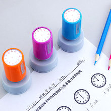 Children Toys Seal-Clock Dial-Stamps Teacher School-Seal Learning Primary Kids Recognition