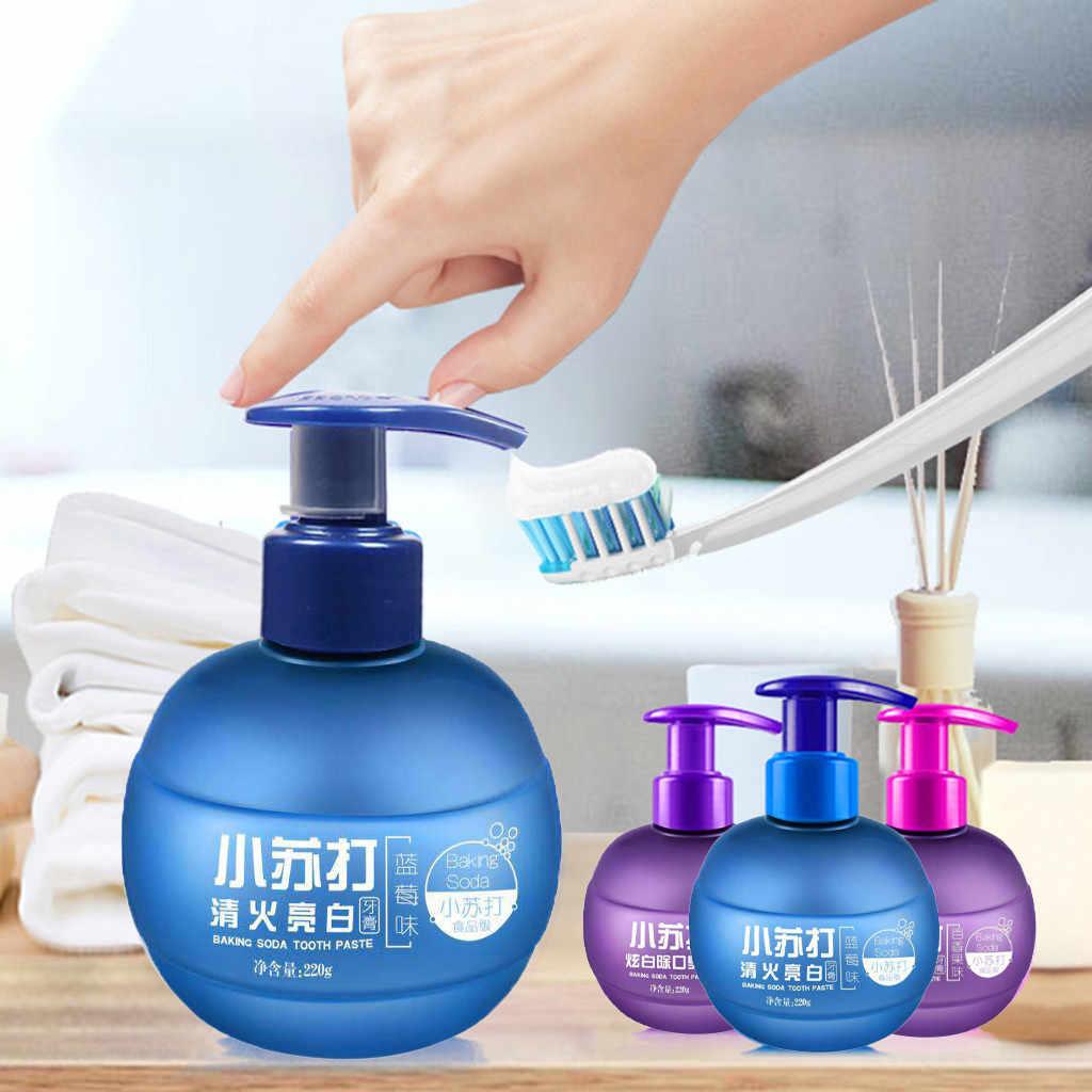 Magical Soda Whitening pasta do zębów wybielanie zębów czyszczenie higiena pielęgnacja jamy ustnej marakuja walka krwawienie dziąsła pasta do zębów niebieski