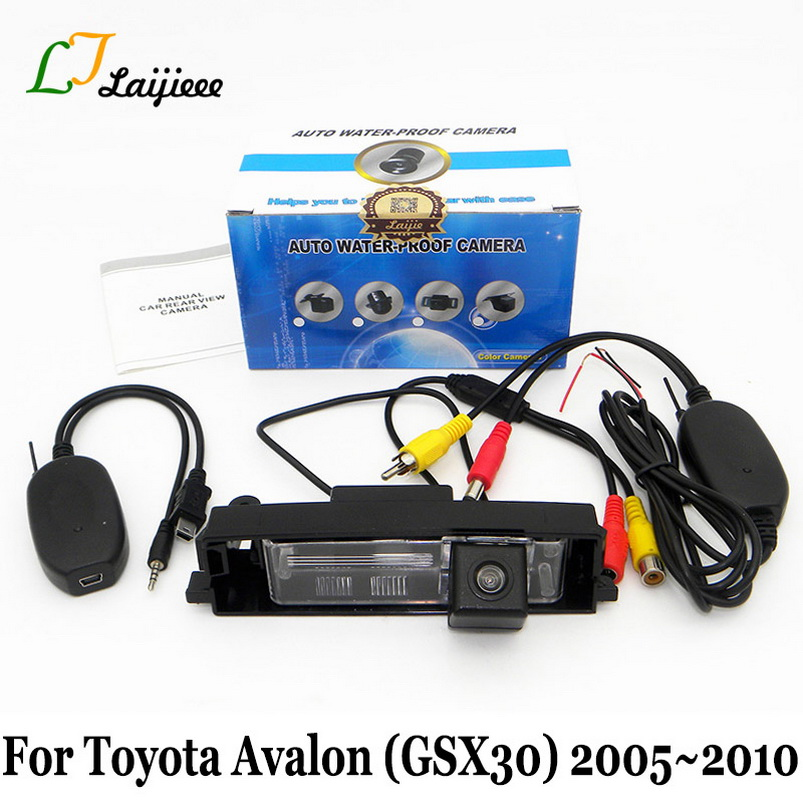 Wireless Reverse Camera For Toyota Avalon GSX30 2005 2006 2007 2008 2009 2010 / Wide Lens Angle HD Night Vision Rear view Camera