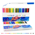 21-25 Color Permanent Acrylic Paint Marker Pens for Fabric Canvas ,Metal and Ceramics,Glass Art Rock Painting, Card Making