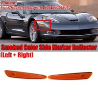 Reflector Front Bumper Side Marker Light   Turn Signals Lamps for Chevrolet (Chevy) Corvette C6 Z06 2005 2013 (Without Bulb)1 Pa|Car Light Assembly|   -
