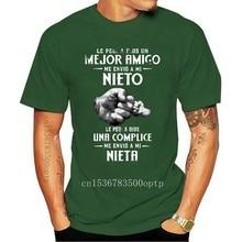 Homens T ShirtLe Pedi UM Dios Un Mejor UM Me Envio UM Mi mi go Nieto Le Pedi UM Dios Me Una Complice Envio UM Mi Nieta t-shirt Das Mulheres