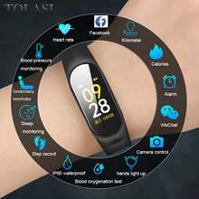 Get more info on the 2019 Smart Watch Men Women Heart Rate Monitor Blood Pressure Fitness Tracker Smartwatch Sport Smart Clock Watch For IOS Android