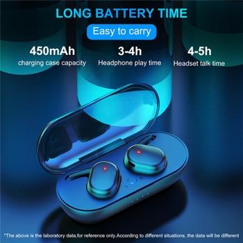 Y30 TWS Wireless Headphones Bluetooth Touch Control Sport Headset Waterproof Microphone Music Earphones Works On All Smartphones 3
