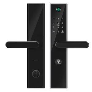 Image 2 - PINEWORLD L5 ความปลอดภัยอัจฉริยะ Biometric ลายนิ้วมือล็อค WIFI รหัสผ่าน RFID บลูทูธ APP ระยะไกล