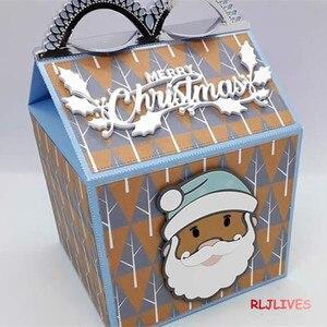 Image 3 - Feliz fiambrera troqueles de corte de Metal plantillas para álbum para recortes de fotos tarjetas de gofrado de papel DIY decorativas