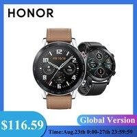 HONOR-reloj inteligente Magic 2 para hombre, pulsera con Monitor de ritmo cardíaco SpO2, GPS, llamadas telefónicas, 14 días de duración, versión Global Español de apoyo
