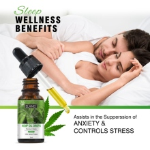 100% Natural Hemp Oil Seed Relieve Pain Anxiety Stress Relief Improve Sleep Anti Massage 2000mg Contains cbd