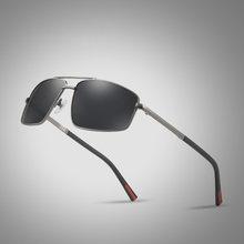 Мужские Винтажные Солнцезащитные очки с поляризацией jm0009