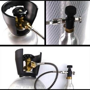 Image 4 - חדש SodaStream SodaClub צילינדר CO2 מילוי תחנת מתאם עם צינור על/כיבוי מתאם W21.8 14(DIN 477) או CGA320 מחבר
