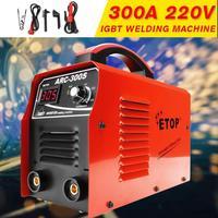220V 50/60Hz Mini Portable Welding machine IGBT Inverter DC Electric Welding Tools Energy Efficient for Home Beginner