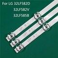 A substituição da peça da iluminação da tevê do diodo emissor de luz para lg 32lf582v-za 32lf585b-se 32lf582d conduziu a linha régua drt3.0 32 a b da tira da luz de fundo da barra
