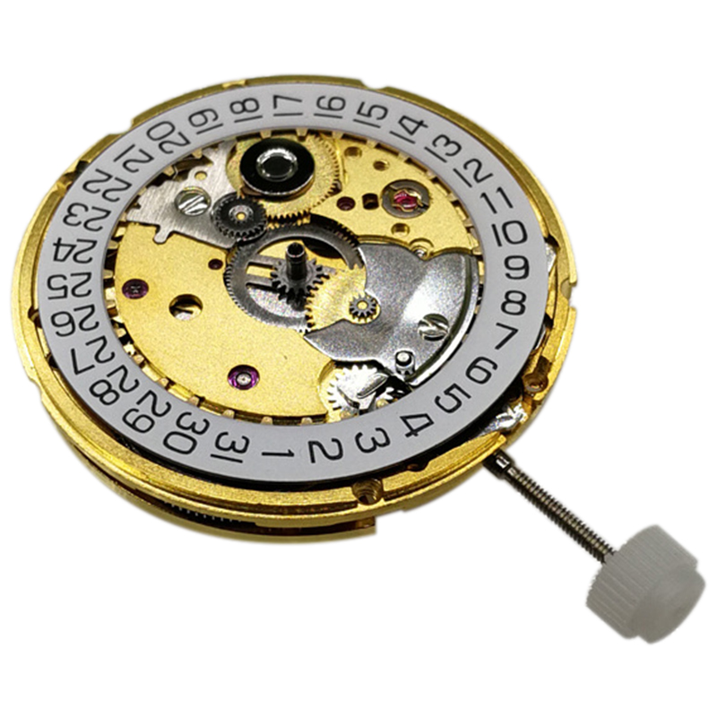 <font><b>Seagull</b></font> <font><b>ST2130</b></font> Automatic Movement Clone Replacement for ETA 2824-2 SELLITA SW200 White 3H Mechanical Wristwatch Clock Movement image