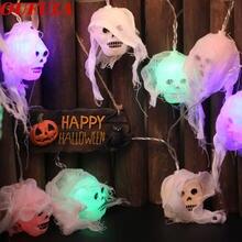 Dlmh привидение фонарь Хэллоуин декоративная лампа забавная
