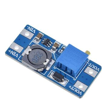 MT3608 DC-DC Step Up Converter Booster Power Supply Module Boost Step-up Board MAX output 28V 2A for arduino dc dc step up boost 2 24 v 5 28 v connect modulo for caricatore