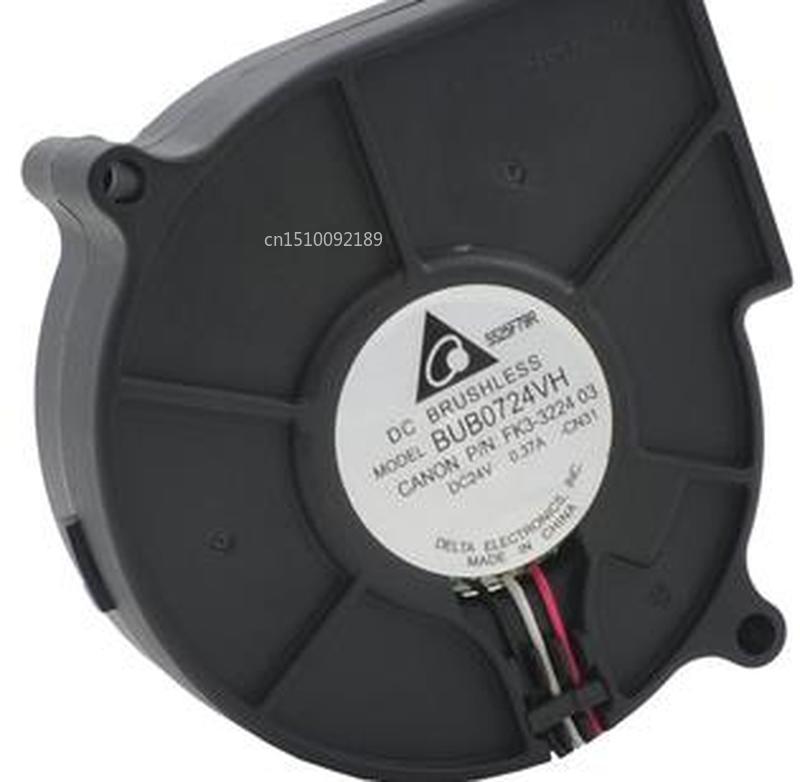 FOR BUB0724VH 7530 24V 12V 0.37A 7 Cm 2 Line Centrifugal Turbine Blower Fan Free Shipping