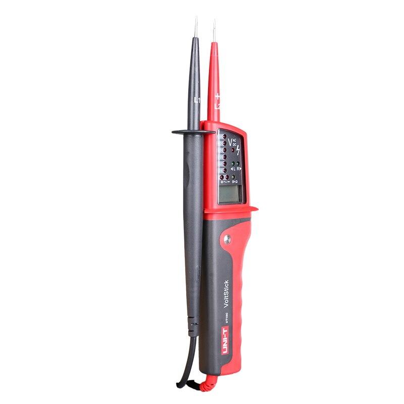 Medidor de voltaje Digital UNI-T UT15C, impermeable, 24V ~ 690V, CA/CC, pantalla LCD, rotación de fase automática