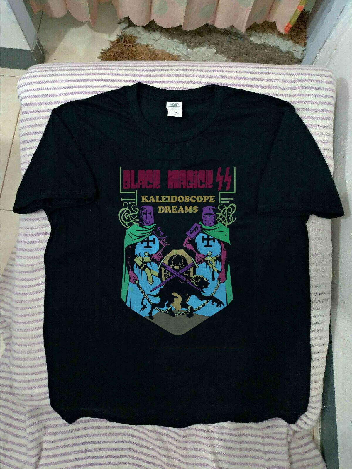 Hot New Black Magick Ss Kaleidoscope-Dreams Tshirt-New