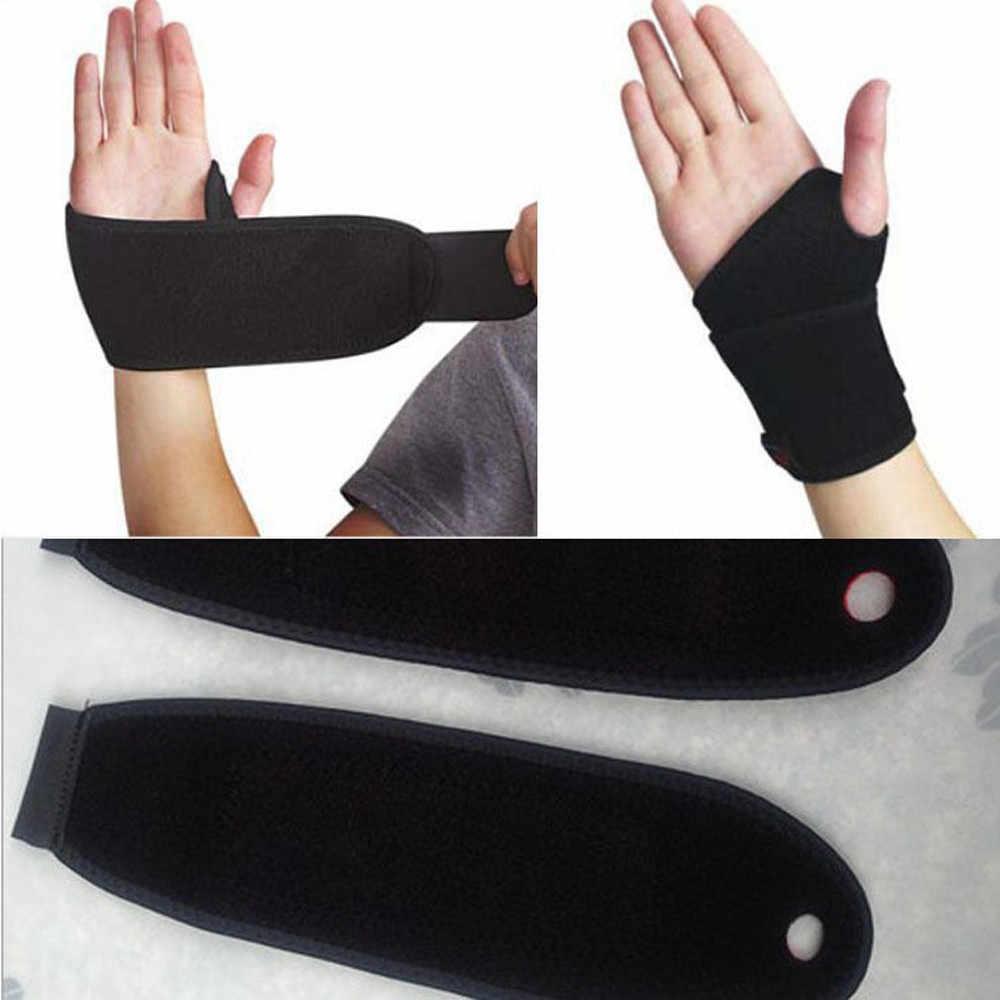 1pc pulseira de proteção de pulso suporte túnel carpal entorses strain gym cinta esportes alívio da dor envoltório bandagem lightweighted #30