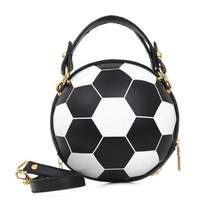 Small Football handbag basketball handbag purses cross body handbag purse(China)