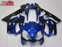 ABS Fairing Kit For Honda CBR600F F4I 2004-2007 Injection ABS Motorcycle plastics Fairings F4I 04-07 Gloss Blue Black Bodyworks цены