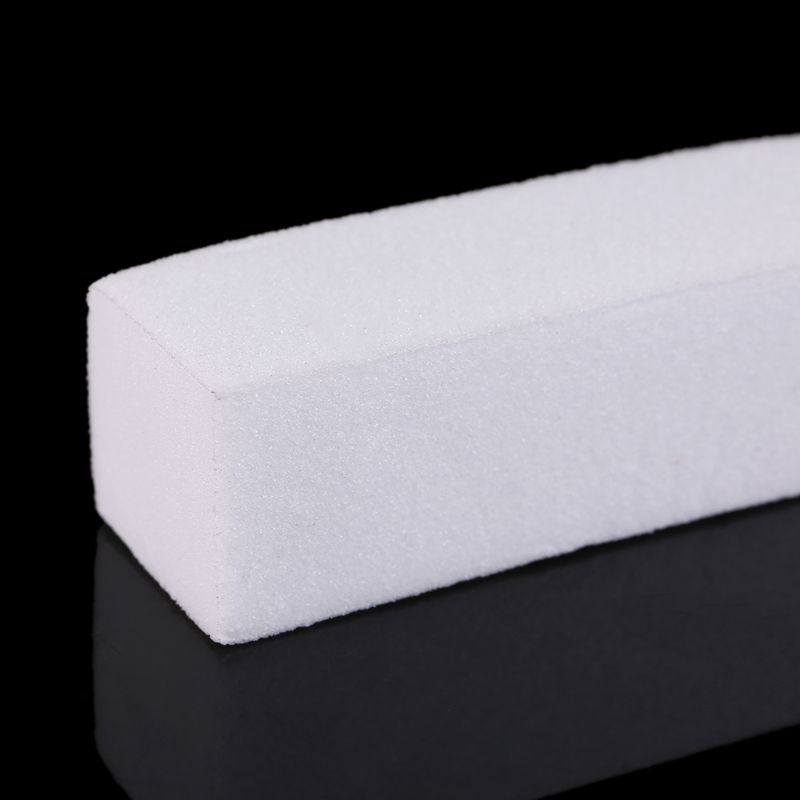 lixa buffer bloco acrilico pedicure manicure branco 05