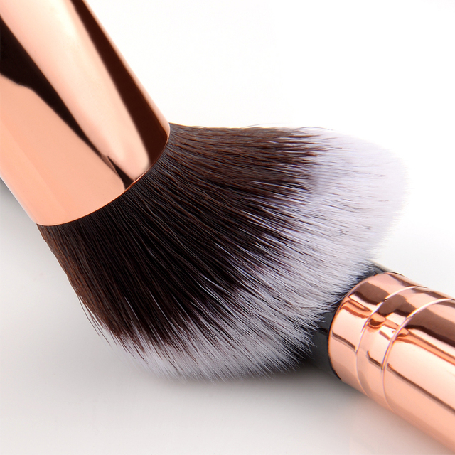 FLD 10 Pcs/ 8 Pcs professional makeup brush Set tools Powder Foundation Eyeshadow Lip Eyeliner Blush Marble Face Makeup Brushes 5