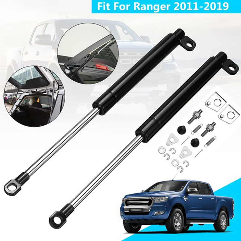 1 Pair Tailgate Slow Down  amp  Easy Up Strut Set Support Rod for Ford Ranger T6 Xl Px Xlt Wildtrak 2011-2019