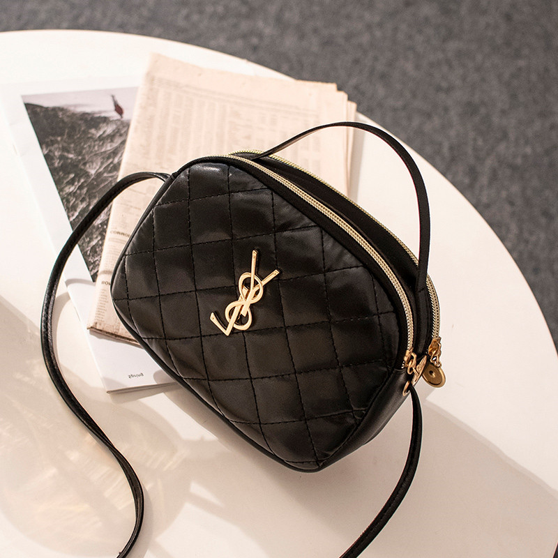 2020 Spring And Summer Women's Fashion Small Round Bag Sweet Lady Shoulder Bag Mini Messenger Crossbody Bag Phone Coin Purse