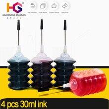 4*30ml universal recarga substituição para canon cartucho de tinta pg 545 cl 546 para pixma mg2950 mg2550 mg2500 mg3050 mg2450