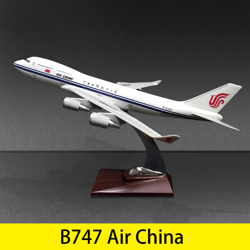 32cm Aircraft Airbus A330 Boeing 737 777 747 C919 Resin B737 B777 B747 Plane Model Toys Children Kids Gift for Collection image