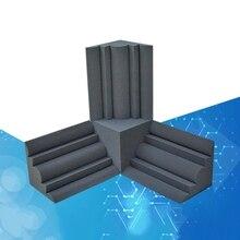 12pcs Corner Acoustic Soundproof Foam High Density Flame Retardant Bass Trap