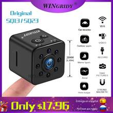 Mini Kamera WiFi Cam SQ13 SQ23 SQ11 Volle HD 1080P Original Sport DV Recorder 155 Nachtsicht Kleine Action kamera Camcorder DVR(China)