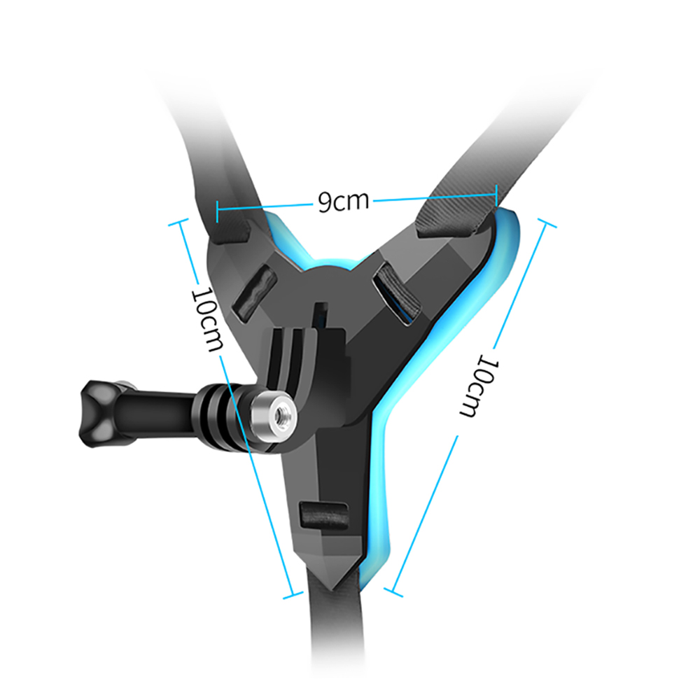 Full Face Helmet Chin Mount Holder for GoPro Hero 8 7 5 SJCAM Motorcycle Helmet Chin Stand Camera Accessories for Go Pro Hero 9-5