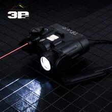 Airsoft טקטי נשק פנס DBAL MKII IR לייזר LED לפיד משולב Softair DBAL D2 אורות אדום לייזר DBAL A2 EX328
