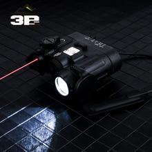 Airsoft armas táticas lanterna DBAL MKII ir laser led tocha multifunction softair DBAL D2 luzes laser vermelho DBAL A2 ex328