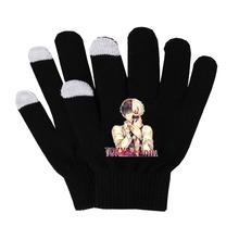 Anime tokyo ghoul rękawiczki bawełniane ciepłe rękawice antypoślizgowe rękawiczki do ekranu dotykowego męskie rękawiczki biznesowe rękawiczki kobieta mężczyzna rękawiczki tanie tanio Unisex COTTON Dla dorosłych Cartoon Nadgarstek Moda SHOUTAO