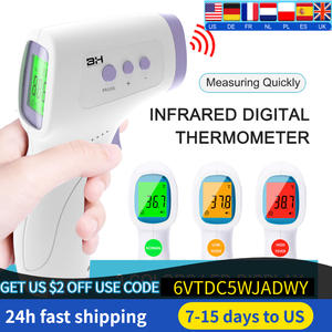 LCD Infrared Forehead Thermometer Celsius And Fahrenheit (Without Battery) Non-Contact Infrared Thermometer High Precision