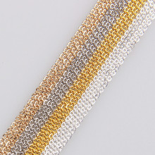 5 meters a pack of thin chain oblate O chain chain DIY handmade jewelry accessories