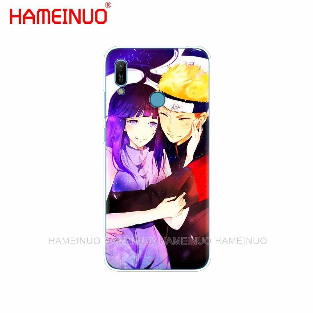 Silikon telefon kılıfı huawei Y5 Y6 Y7 Y9 PRO BAŞBAKAN 2019 honor 8s 8a 20 LITE PRO 10i görünüm 20 V20 coque Anime Naruto Naruto