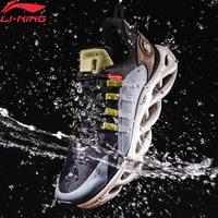 Li Ning Männer LN ARC Kissen Laufschuhe Wearable Wasserdichte Futter li ning WASSER SHELL Sport Schuhe Turnschuhe ARHP245 XYP946-in Laufschuhe aus Sport und Unterhaltung bei